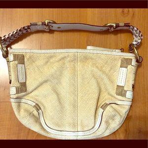 Coach basket weave bag